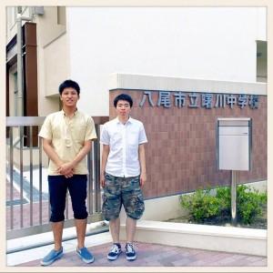 【出張授業】八尾市立曙川中学校
